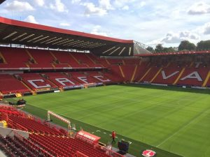 The Valley after refurbishment ready for the  new season