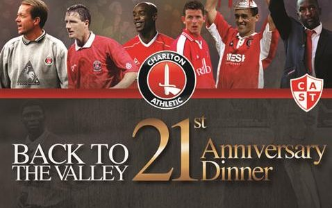 Tonight Charlton Live will be broadcasting live from the Back To The Valley 21st anniversary dinner. Make sure you tune in on CAFC Player from […]