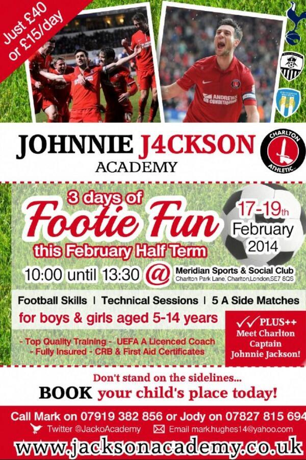 Johnnie Jackson Academy - February 2013