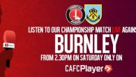 Can The Reds rock Burnley's run? Overview: Charlton will be hosting Burnley this Saturday and everyone involved with The Addicks will be hoping to top...