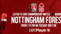 Pete Finch is live from the City Ground tonight at 7.15pm on CAFC Player with Matchday Live coverage of the game vs Nottingham Forest, send...