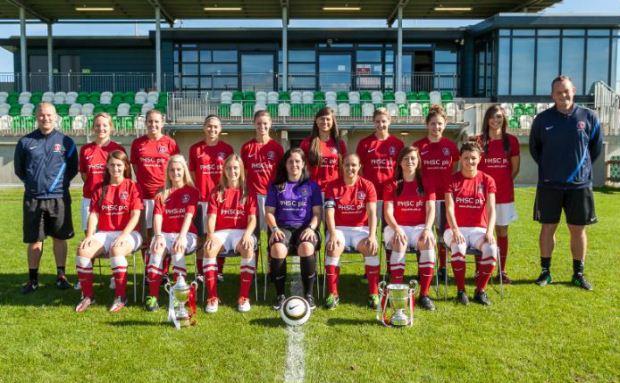 CAFC Womens 1st Team 2013-14
