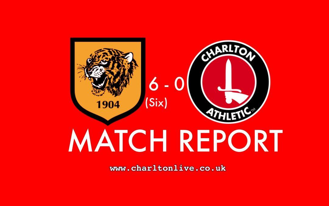MATCH REPORT: Hull 6-0 Charlton