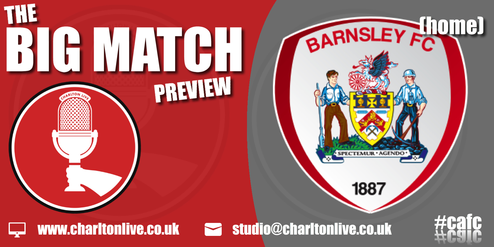 Join Louis Mendez, Tom Wallin and Nathan Muller as they get ready for Saturday's home game with Barnsley. They hear from Charlton Athletic Supporters Trust […]