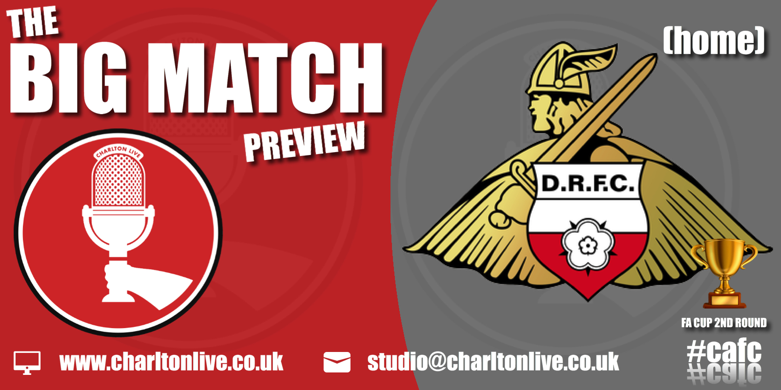 Join Louis Mendez and Tom Wallin as they look back at Burton Albion and ahead to Saturday's FA Cup clash with Doncaster Rovers. They hear […]