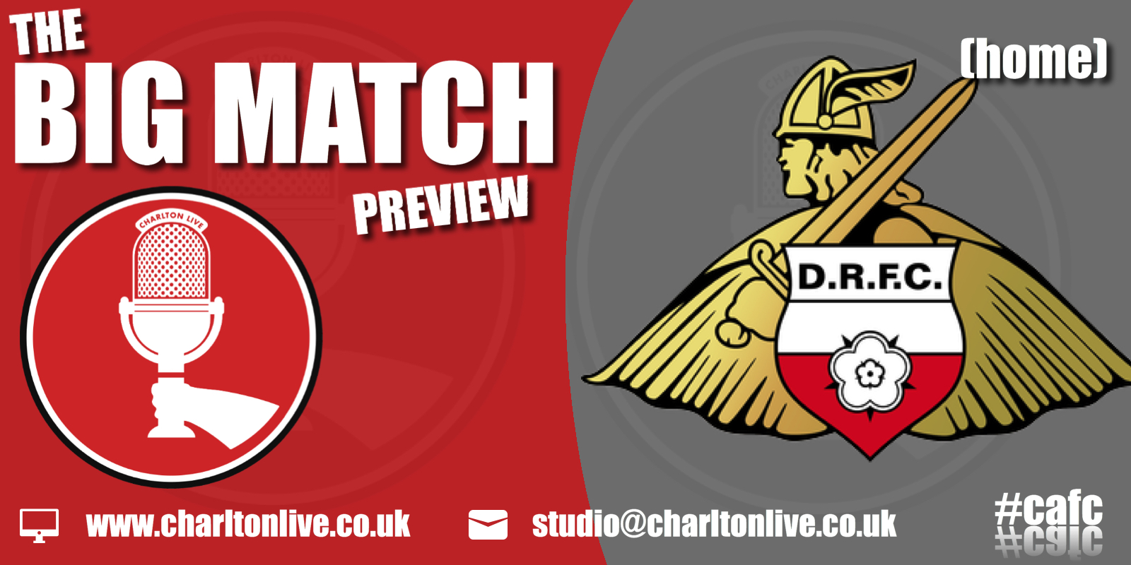 Join Louis Mendez, Tom Wallin and Nathan Muller on the award-nominated Charlton Live as they gear up for Saturday's home game with Doncaster. They discuss […]