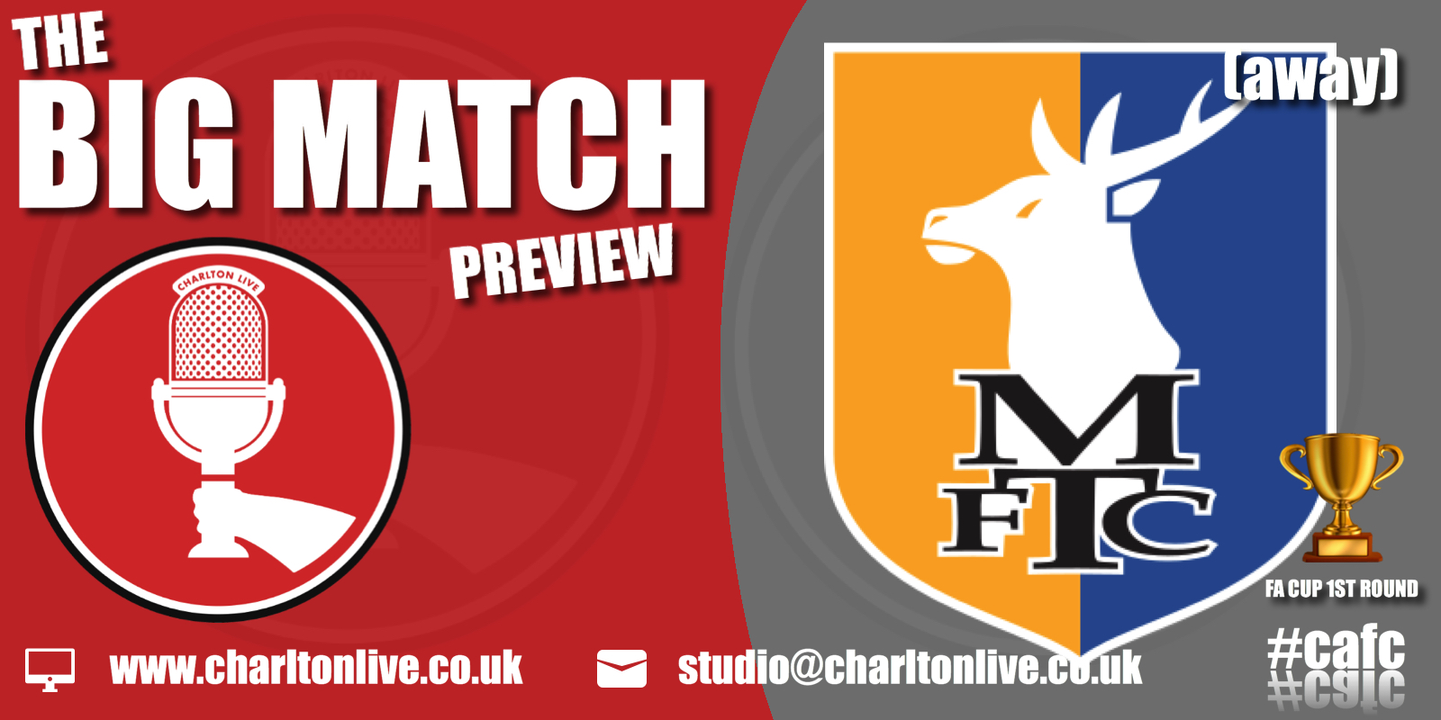 Join Louis Mendez, Tom Wallin and Nathan Muller as they look back at the win over Walsall on Tuesday night and ahead to the trip […]