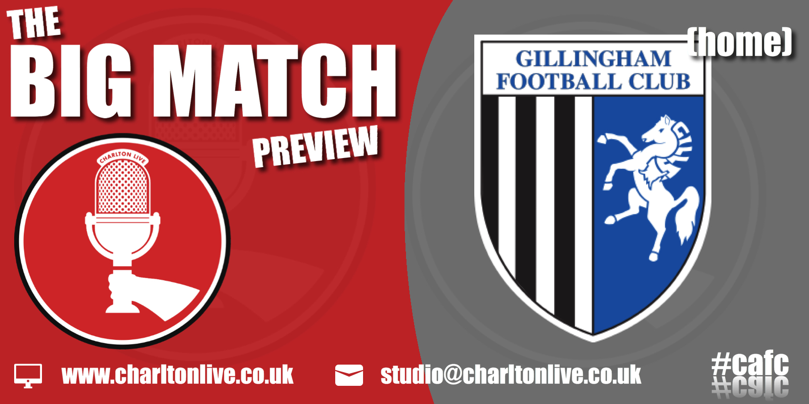 Join Louis Mendez, Tom Wallin and Nathan Muller as they gear up for Saturday's home game with Gillingham. They chat about the latest takeover update […]