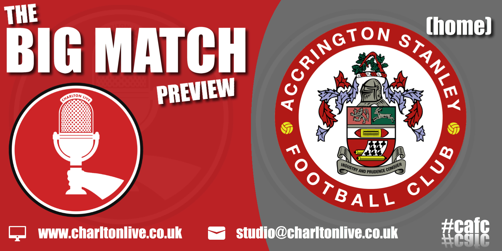 Join Louis Mendez, Tom Wallin and Nathan Muller as they gear up for Saturday's home game with Accrington Stanley. They hear Charlton boss Lee Bowyer […]