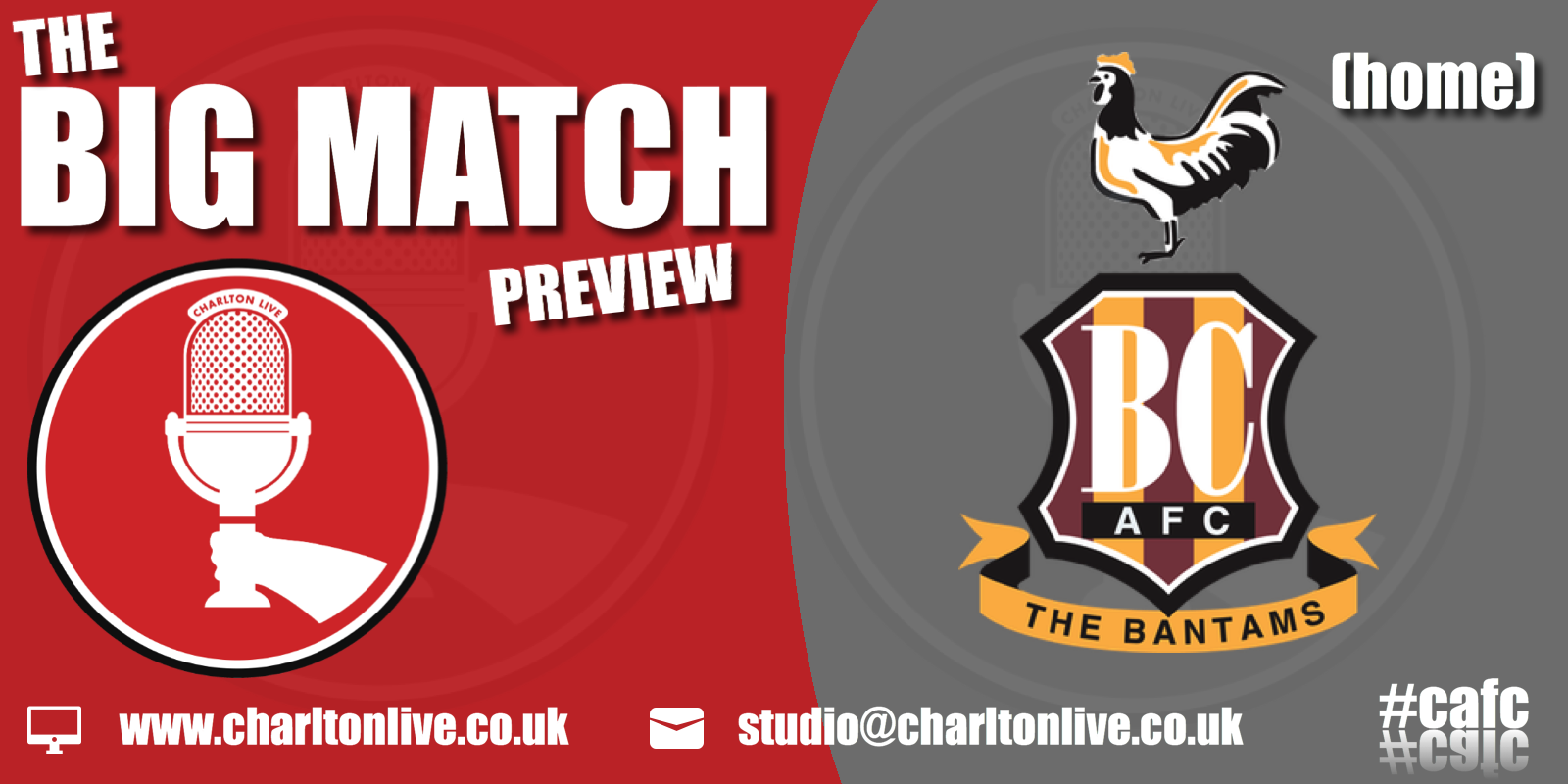 Join Louis Mendez, Tom Wallin and Nathan Muller as they gear up for Saturday's home game against the rock-bottom Bantams. The lads discuss the Joe […]