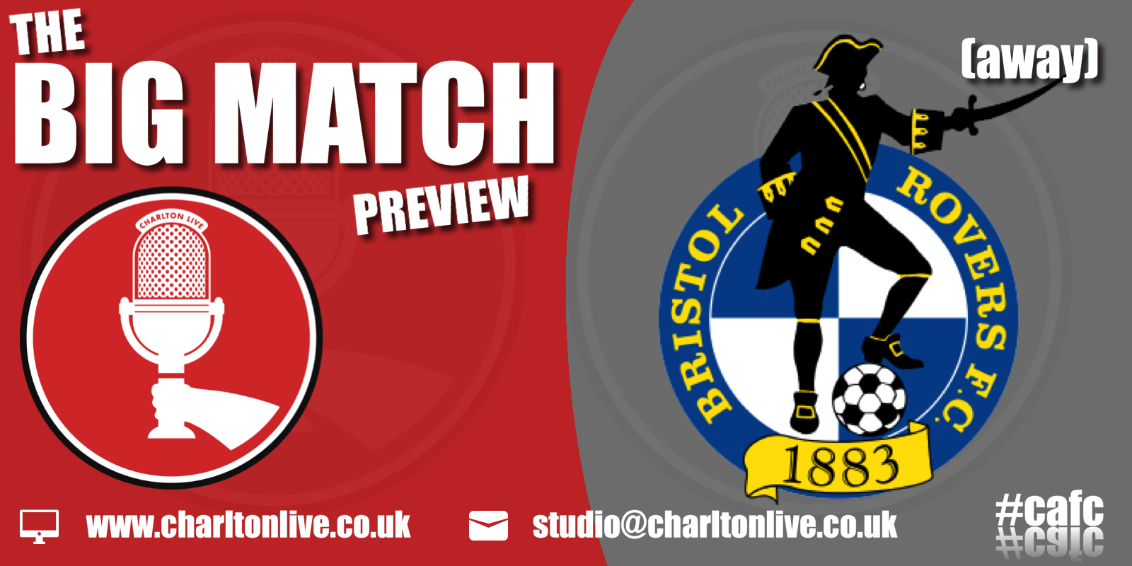 Join Louis Mendez, Tom Wallin and Nathan Muller as they look back at the win over Burton and ahead to the trip to Bristol Rovers. […]