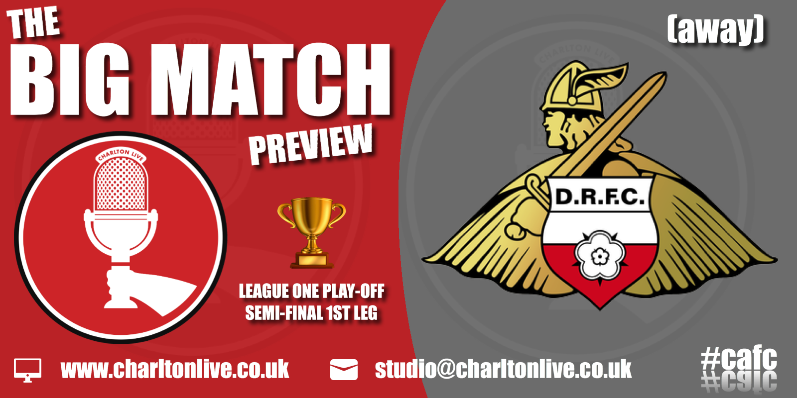 Join Louis Mendez and Tom Wallin as they gear up for the 1st leg of the play-off semi-final with Doncaster. They look back at the […]