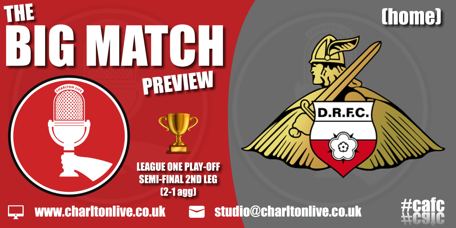 Join Louis Mendez, Tom Wallin and Nathan Muller as they look back at the 1st leg and ahead to the 2nd leg of the play-off […]