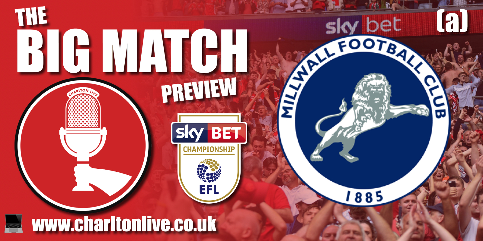 Join Louis Mendez, Tom Wallin and Nathan Muller as they gear up for the trip to The Den to take on local rivals Millwall. They […]