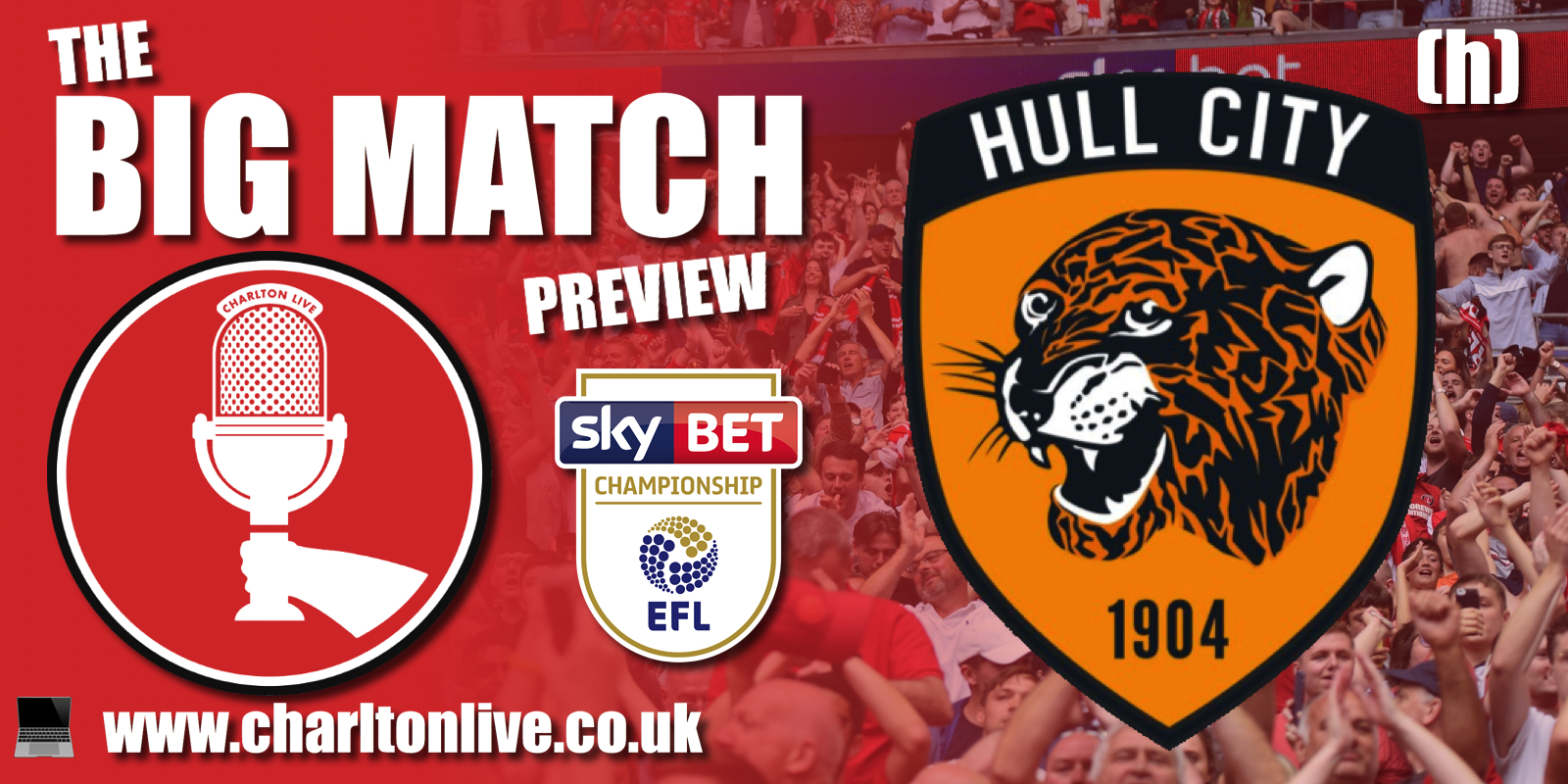 Join Louis Mendez and Tom Wallin as theylook back at the home defeat against Huddersfield and ahead to tomorrow's game with Hull City. They hear […]