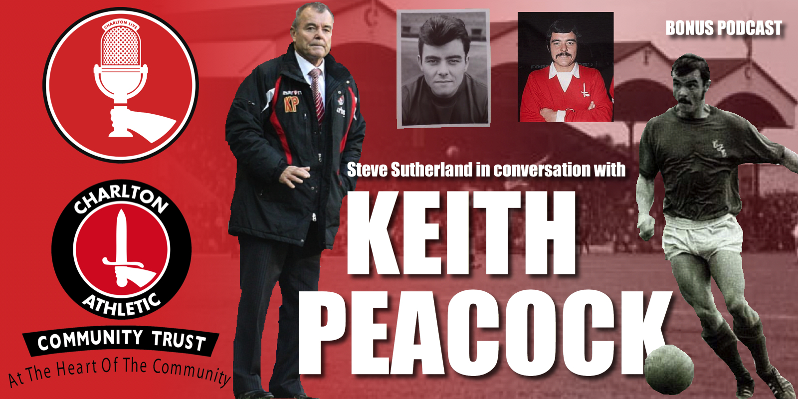 In this the first of a series of three 'Charlton Chat' interviews; Steve Sutherland chats with Charlton legend Keith Peacock about his early life, the […]