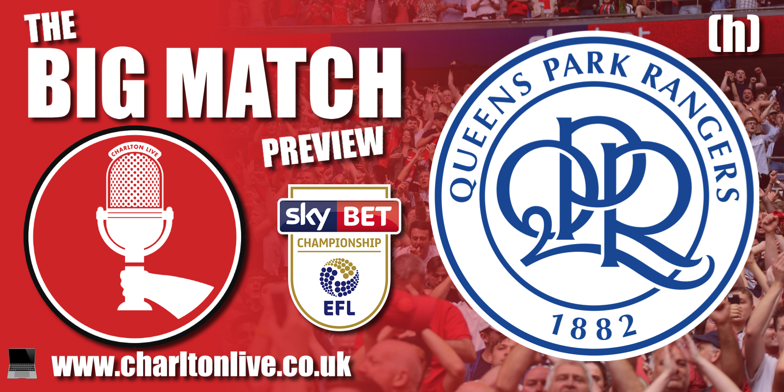 Join Louis Mendez, Tom Wallin, Nathan Muller and Lewis Catt as the guys gear up for Saturday's home game with QPR. They hear from Addicks […]