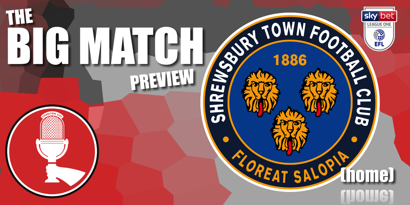 Big Match Preview – Shrewsbury Town at home 2020-21